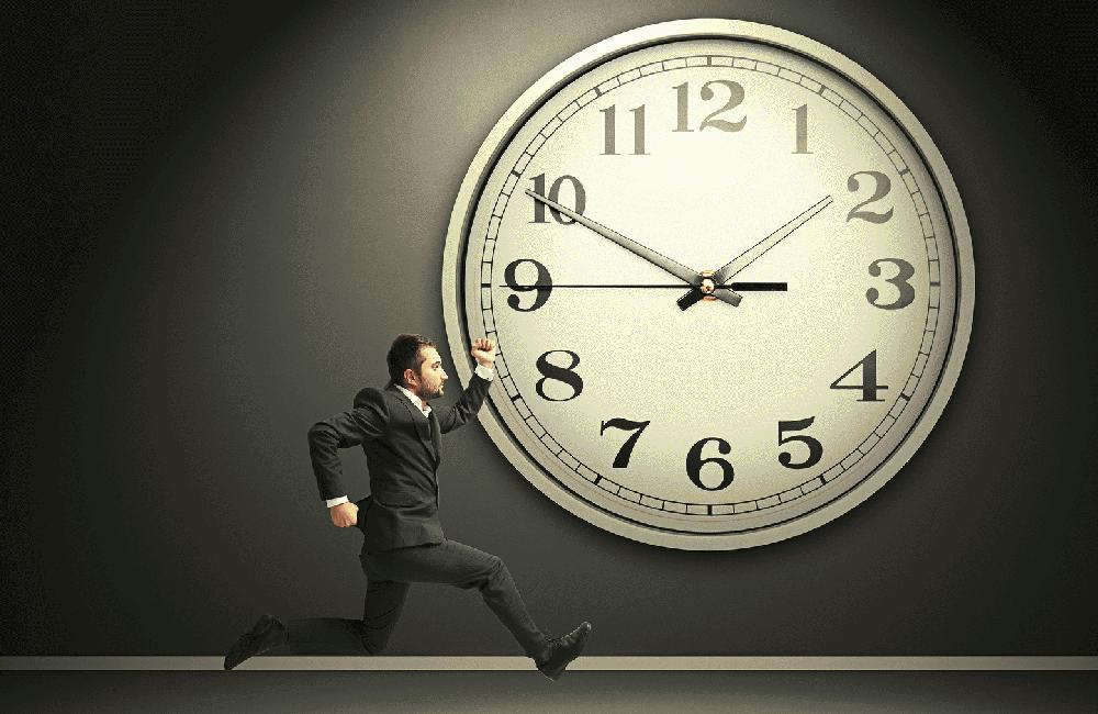 La gestión del tiempo no existe