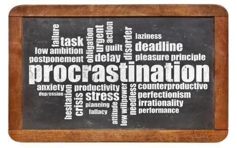 Procrastinar de forma productiva